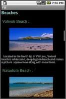 Screenshot of Fiji Travel