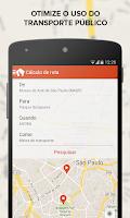 Screenshot of TRAFI Brasil metro bus train