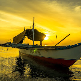 Power of Light by Karen Lee - Transportation Boats