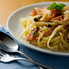 Tagliolini with Lobster and Fresh Tomatoes