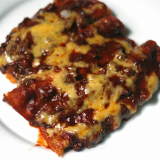 Tex-Mex Cheese Enchiladas With Red Chili Gravy
