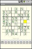 Screenshot of Androku - Sudoku for Android