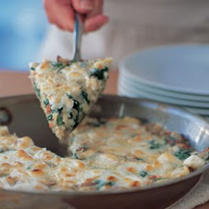 Herbed Spinach Frittata with Feta