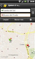 Screenshot of Madrid Bus