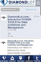 Screenshot of DiamondLot