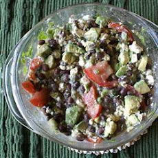 Creamy Avocado Black Bean Salsa
