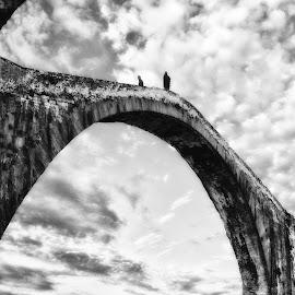 On the bridge by Cesare Riccardi - Buildings & Architecture Bridges & Suspended Structures