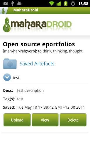 【免費教育App】MaharaDroid-APP點子