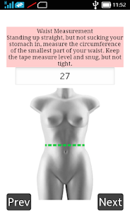 Body Shape Calculator - screenshot