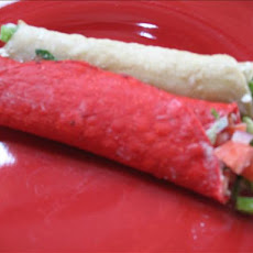 Blue Corn Feta Taquitos