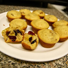 Blueberry (Or Chocolate Chip) Mini Muffins