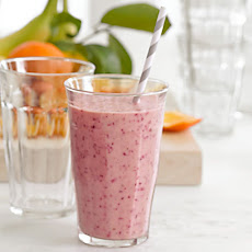 Cranberry, Orange and Banana Smoothie