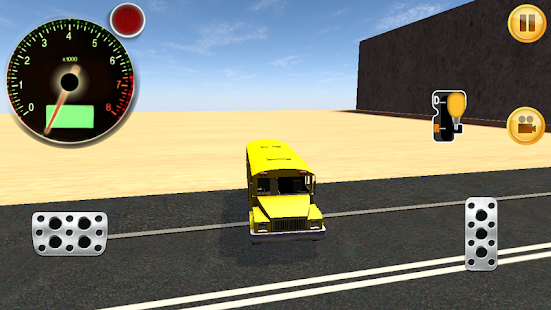 School Bus City Ride Sim 3D - screenshot