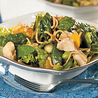 Chicken and Edamame Asian Salad