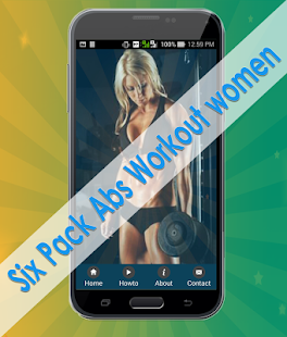 Six Pack Abs Workout womens - screenshot