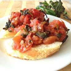 Tomato and Rocket Bruschetta