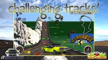 Screenshot of V8 Muscle Cars - Racing game