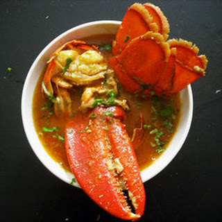 Thai Curries, Part One: Lobster in Yellow Curry Sauce
