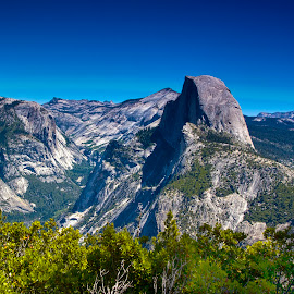 Half Dome by Sue Matsunaga - Novices Only Landscapes
