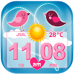 Love Weather and Clock Widget 1.2.2 Apk