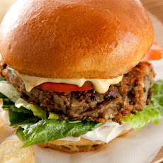 Black-Eyed Pea Vegan Burgers