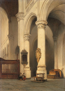 RIJKS: Johannes Bosboom: painting 1848