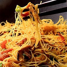 Singapore Stir-fried Noodles