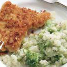 Parmesan-Crusted Turkey Breast