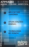Screenshot of Rádio Manchete 760