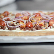 Spicy Jalapeno & Bacon Flatbread