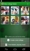 Screenshot of Video Collage Maker
