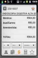 Screenshot of P-MED  Preço AMB, TUSS, CBHPM