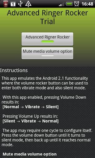Advanced Ringer Rocker Trial