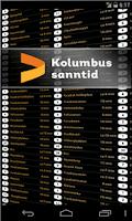 Screenshot of Kolumbus Sanntid