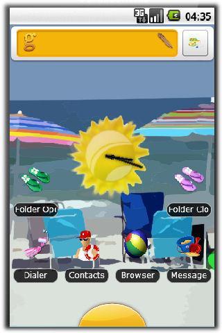 Summer Beach Theme