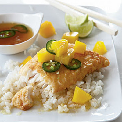 Fried Snapper with Nuoc Nam Sauce