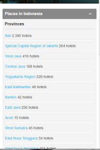 Hotel Rates - screenshot