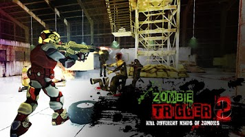 Screenshot of Zombie Trigger 2 : Shooting 3D