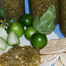 Salsa Verde--canning Recipe