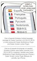 Screenshot of Spanish-US for Espier Apps