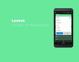 Screenshot of Leaves Live Wallpaper Free