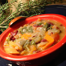 Italian Ribollita (Vegetable and Bread Soup)
