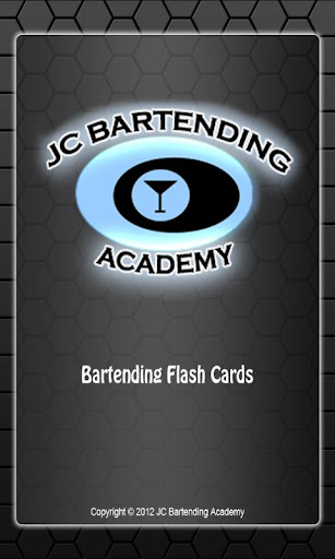 JC Bartending Acad Flashcards