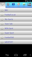 Screenshot of UK Premier League 2015