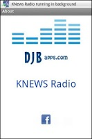 Screenshot of KNews Radio