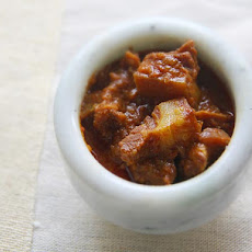 Pork Indad (Sweet and Savory Indian Stewed Pork)