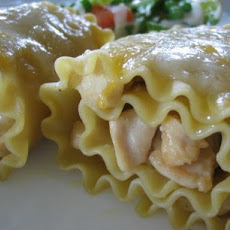 Chicken Lasagne Rolls