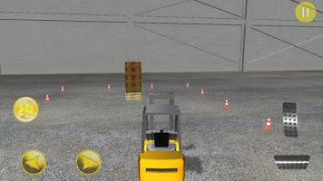 Screenshot of 3D Forklift Parking Driving