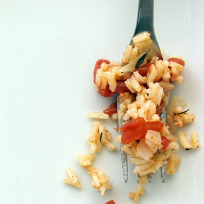 Rice Pilaf with Tomatoes