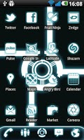 Screenshot of LauncherPro Glow Icon Pack